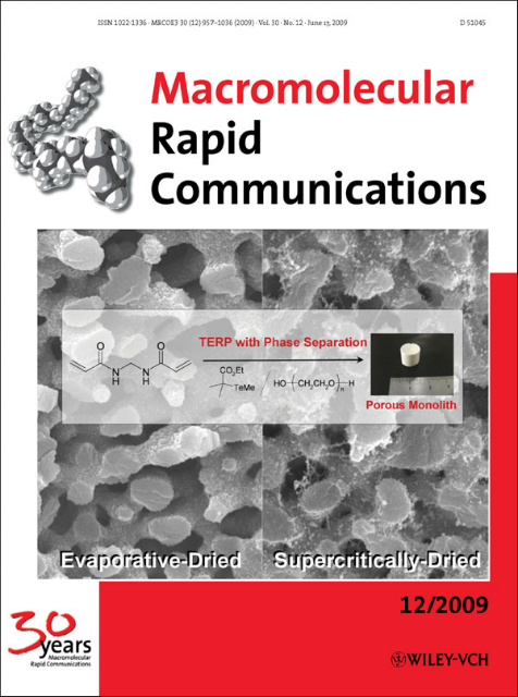 Macromolecular Rapid Communications誌表紙